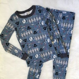 Hanna Andersson Blue Star Wars Pajama Set